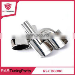 Luxurious 304 Stainless Steel Exhaust Muffler Pipe for Mercedes Car