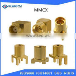 MMCX Male Right Angle Crimp Type RF Connector