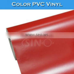 High Quality Glossy Red Self Adhesive Vinyl Cutting Plotter