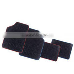 All Weather Heavy Duty Black color Non slip rubber car mat for car