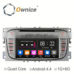 Ownice c180 quad core Android 5.1 2 din radio for Ford Focus C-MAX Galaxy built Wifi Bluttooth