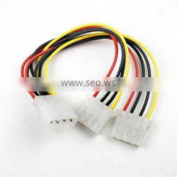 4 Pin IDE Hard Drive Molex Power Supply Y Splitter Extension Cable
