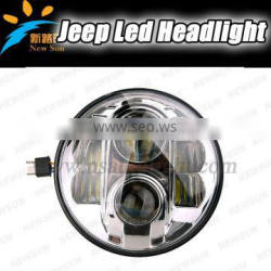 """7"""" LED Headlight Round 7inch Headlight for offroad for Jeep Wrangler"""