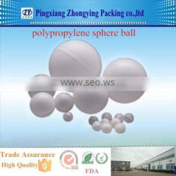 Polypropylene sphere ball for Electroplate plant(9.5-150mm)