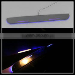 innovative new products led moving door scuff led moving door sill plate for mazda 3 high quality