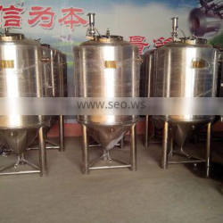 Mechanical polishing micro brewery system 3bbl beer brewing machine