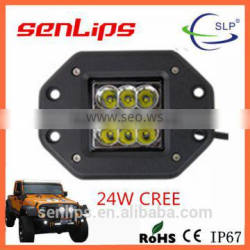 Top-selling 24W SQ led work light C-REE auto lamp for 4X4 offroad trucks motorcycle