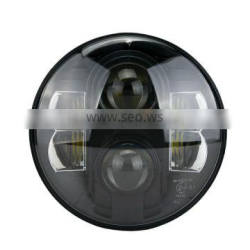 """""""Wholesale""""7"""" Round LED Head lamp 48W Car Led Headlights H4 H13 for Jee-p Wrangler Toyota Harley Lan-dRover, Defende-r"""