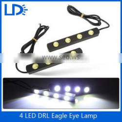 Universal 8w 4 Led Drl eagle eyeCob Auto Led Drl Day time running light