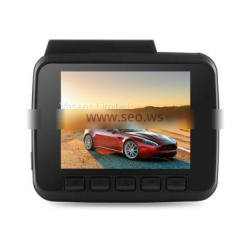 Hidden recorder 2.4 inch screen 1080P high definition night vision GPS track WiFi car dvr manufacturer direct sale