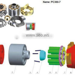 Sell excavator main pump spare parts for PC360-7