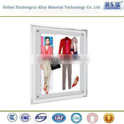 aluminum frame for suitcase/photo/whiteboard/greenhouse/poster/bike/led display