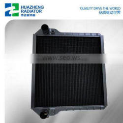OEM manufactory radiator for modern agricultural machinery