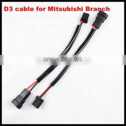 D3S HID Xenon Bulb Replacement Power Cords Cables For Mitsubishi D3 HID Ballasts Adapter Plug