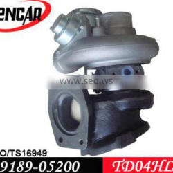 TD04 turbocharger for Volvo X-Country, V70, XC 70, S80, XC 90 with N2P25LT Engine 49189-05200