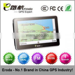 cheapest!Built-in 4GB 4.3 Inch Car GPS Navigation with Bluetooth, AV IN, Fm Window CE 4GB ,TF slot
