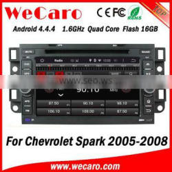 Wecaro WC-CU7011 Android 4.4.4 car stereo 2 din for chevrolet spark car audio system stereo bluetooth 2005-2008