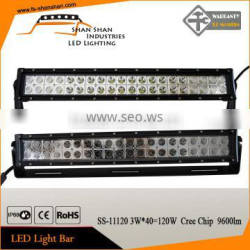 """21.5"""" 120W hot sale off road led light bar for cars SS-11120"""