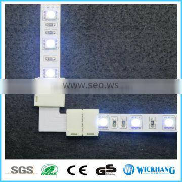 RGB 10 mm 4 Pin L Type PCB FPC Board Splitter LED strip connector for SMD 5050 RGB LED strip light