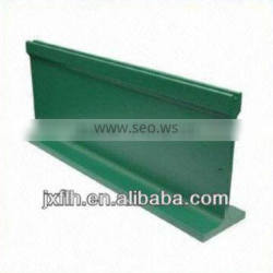 Aluminium profile with Green Powder Coating used for Windows & Doors, Balustrade, Curtain wall and Solar Mounting System