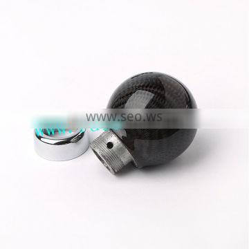 China Cool Custom Racing Black Carbon Fiber Ball Gear Shift Levers for Sell