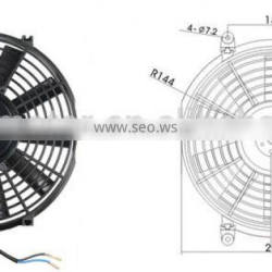 """Cooling parts 10"""" inch L Universal condenser fan"""
