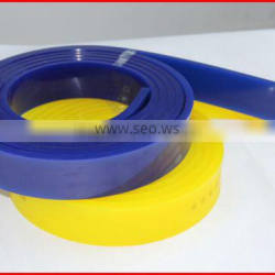 rubber blue squeegee for glass bottles screen printing