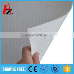 Polyester needle-punched felt air filter fabrics