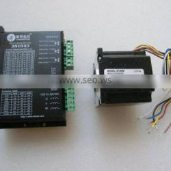 573S09 &3ND583 /3DM583 stepper motor and driver for for x axis of 1390,1290, 9060 machine without gear