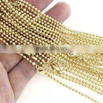 Colorful Metal Bead Chain Ball Chain Roll For Label