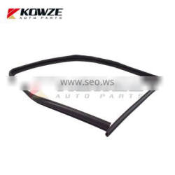 Door Window Glass Runchannel Seal Rubber Tape For Mitsubishi Outlander ASX 5705A617 5705A618