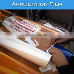 Middle Viscosity Application Film/Transfer Vinyl With Base Paper