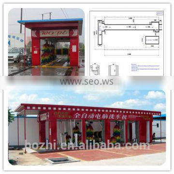 High Quality 12 Brushes FD14-2A automatic car wash for sale