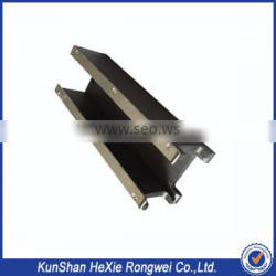 Aluminum anodized jigs and fixture parts