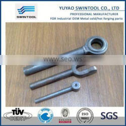 Metal droped forging part-clevis JAW for turnbuckle DIN 1478 and 1480 m8