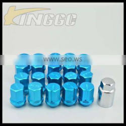 Factory Sales aluminum m12*1.5 lug nuts for wheel
