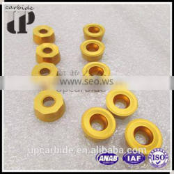 Zhu zhou hot sale top quality round cemented carbide inserts, tungsten carbide ring Supplier's Choice