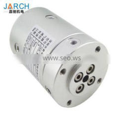 SMC rotary joint pneumatic rotary Union 2-16 channels 4 mm diameter rotary joint slip ring
