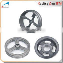 Industry&Auto parts cast iron/ductile iron/grey iron wheel for sale