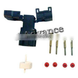4 Pin Male Motorcycle Electrical Connector With Terminals and Seals For O2 Oxygen Sensor