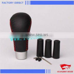 High Quality Real leather Shift Gear Knob Universal