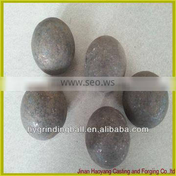 60-65HRC wear resistant Forged Steel Balls for the Copper Mines