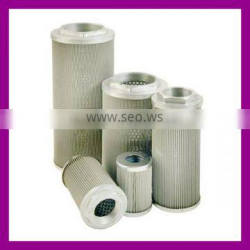 Stainless steel suction oil filter element for steam/gas turbine