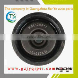 Good quality and hot sale 610800060265 Weichai engine parts Belt tension pulley