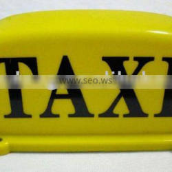 waterproof use high quality of 12v taxi roof light(ce/rohs)