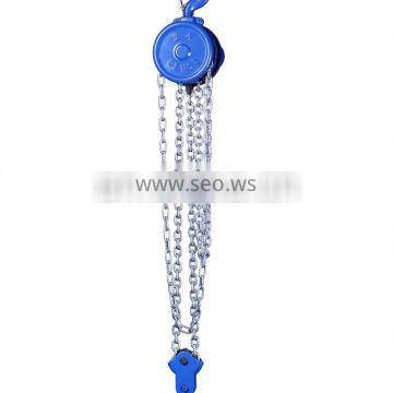 High Quality 0.5T-20T Light Weight Manual Chain Hoist for building construction lifting tools