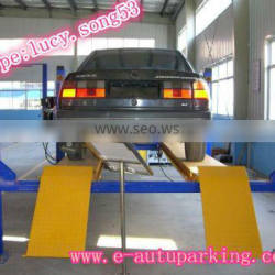 Four Post vehicle Alignment Lifts