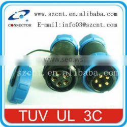 Waterproof Plastic Protected IP68 Connector used in LED screen