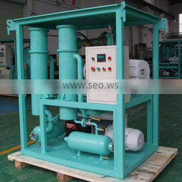 Mobile Vacuum Extraction Unit with Vacuum and Roots Booster Pumping Groups for Transformer Vacuumming