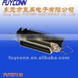 14 pin 24 pin 36 pin 50 pin and 64 pin configurations Combo Connector Female Type PCB Mount Right Angle